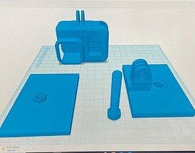 GoPro 8 Fence Mount 3D printable model