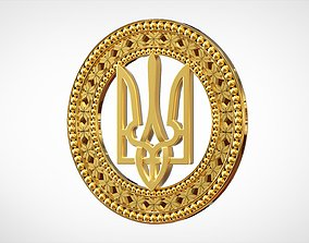 Emblem Of Ukraine 3D printable model