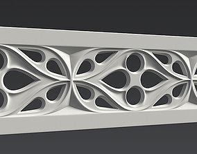 3D model Gothic ornament 02