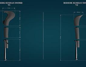 Kushan Swords from Berserk 3D print model