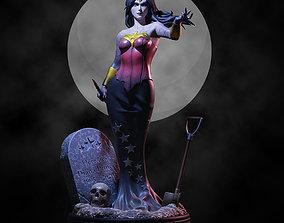 Queen Wonder Woman Halloween Variant 3D printable model