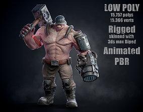 Thor Super Soldier Of The Third Reich 3D asset