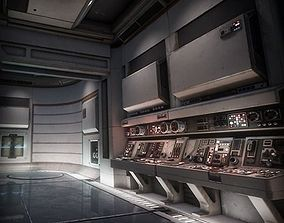 Sci Fi Interior Asset Pack 1 3D model