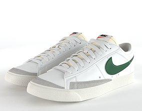 Nike Blazer Low 77 Vintage PBR 3D model low-poly