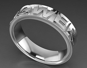 power ring 3D printable model