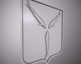 the emblem Saratov 3D print model