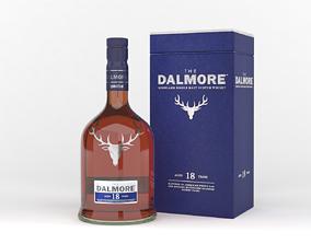 3D Dalmore Whisky