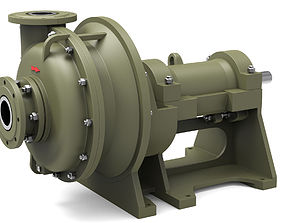 water Pump centrifugal 3D