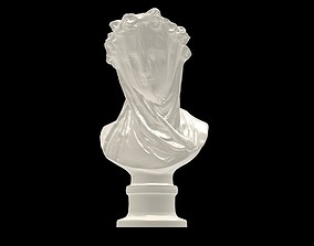 Veiled Lady at the Minneapolis Institute 3D print model 2