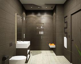 Bathroom 3D model house