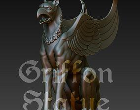 3D print model Griffon Statue