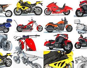 Motorcycle 3D Models Collection