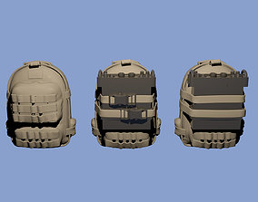 3D printable model Military backpacks with radio