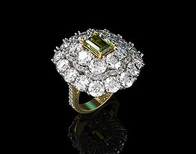 3D printable model sapphire Gold N638