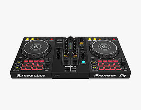 3D model DJ Controller DDJ-400