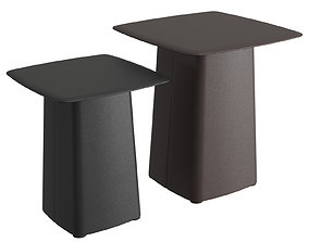 Leather Side Tables 3D model