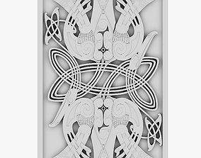 Celtic Ornament 28 3D