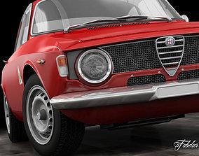 3D Alfa Giulia Sprint Quadrifoglio