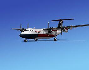 3D model Dehavilland DHC-7 Texasair