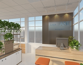 minimalist Office 3d