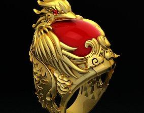 Nhan Nam Phuong Hoang - The Phoenix Ring 3D print model