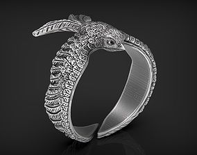 3D printable model Stylized Bird Swallow Ring