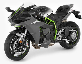 Kawasaki Ninja H2 3D