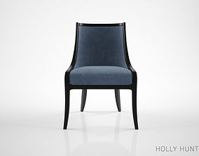 Holly Hunt Carlyle dining chair 3D