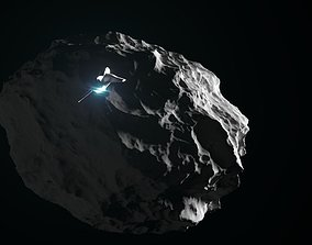 Asteroid asteroid 3D