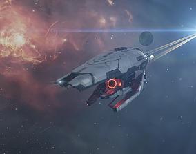 Hydra Covert Ops Frigate 3D model