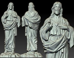 Jesus Statue 3D print model
