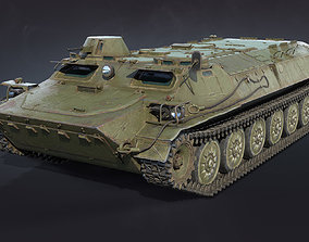 MT-LB Armored Tracked Vehicle 3D model PBR