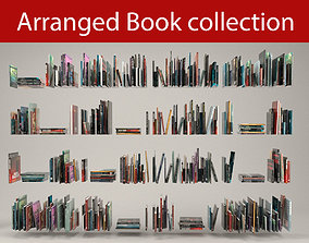 Book collection 3D