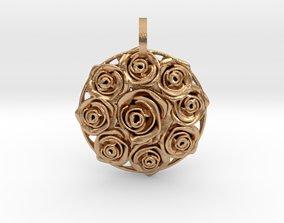 3D printable model Bouquet Pendant