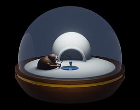 3D asset Snow Globe