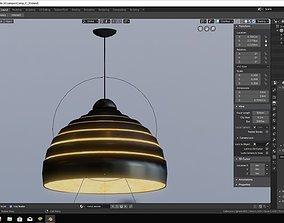 Lamp modeled in blender