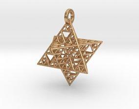 3D printable model Sierpinski Merkaba pendant