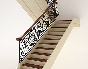 Classic Stair 3D model