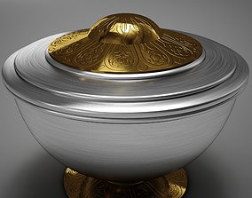 High Def Clasic Cremation Urn III 3D