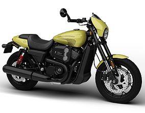 Harley-Davidson Street Rod XG750A 2018 3D model