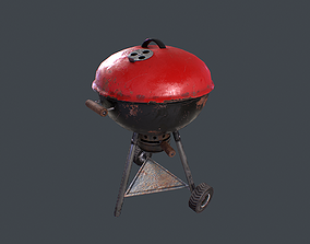 3D model Old Barbecue