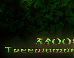 treewoman 3D print model