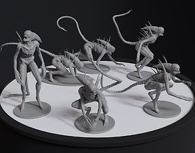 Alien Covenant Neomorph 6 posed printable models