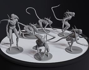 Alien Covenant Neomorph 6 posed printable
