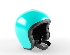 Helmet 3D Motorcycle for Hard Hat Helm game-ready
