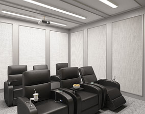 Cinema Room Home Theatre 3D