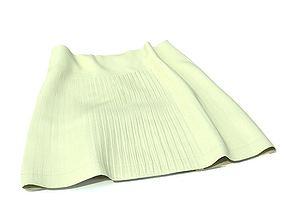 White Skirt 3D