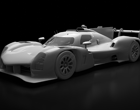 3D 2021 Toyota Gazoo Racing GR010 Hybrid