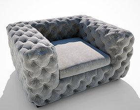 3D model Armchair Desire Kare Design
