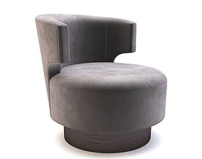 Holly Hunt - Mesa OCCASIONAL CHAIR 3D asset